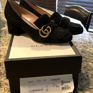 Gucci Marmont Pumps